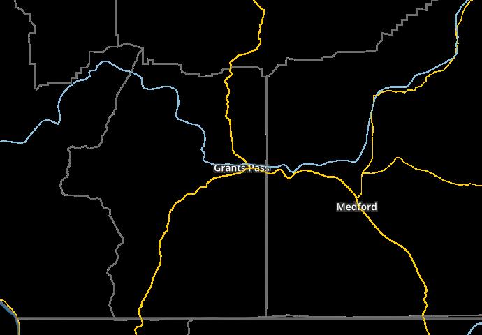 GrantsPassWeathercom Local Lightning Map