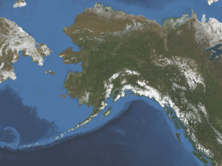 Satellite Map For Haines Alaska 99827 Regional