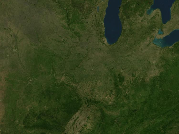 Doppler Weather Radar Map for Chicago, Illinois (60601) Regional