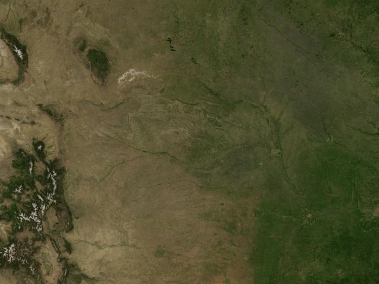 Doppler Weather Radar Map for Waterloo, Nebraska (68069) Regional