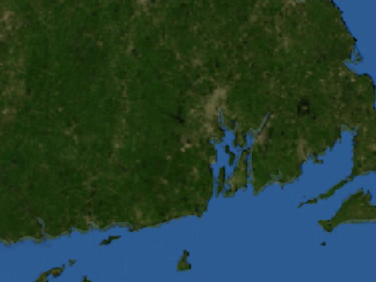 Doppler Weather Radar Map for Dallas, Rhode Island () Regional on