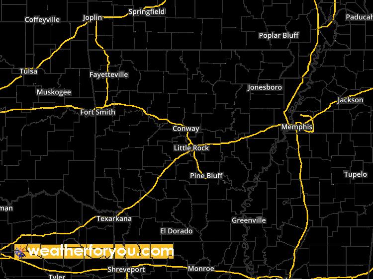 Little Rock Weather Map.Doppler Weather Radar Map For Rock Hill Arkansas Regional