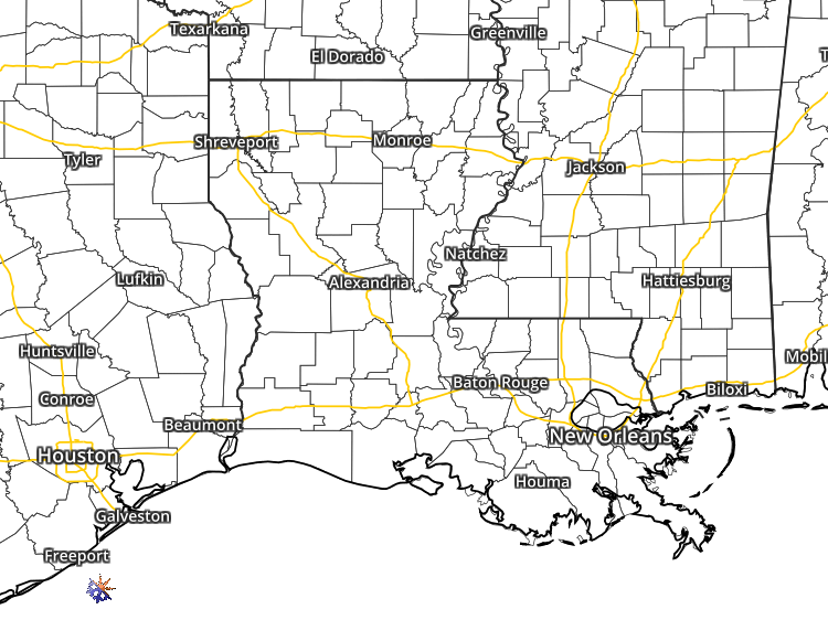 Doppler Weather Radar Map For Amite Louisiana Regional - Shreveport weather radar live