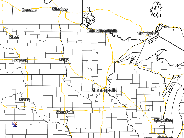minnesota radar weather map Doppler Weather Radar Map For Benson Minnesota 56215 Regional minnesota radar weather map