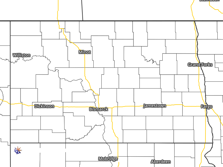 Doppler Weather Radar Map For Shawano North Dakota Regional