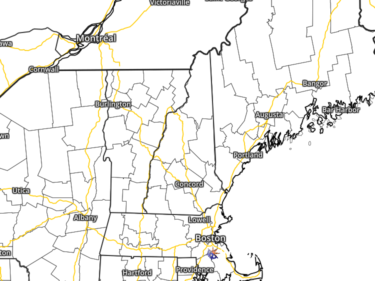 Doppler Weather Radar Map for Laconia, New Hampshire (03246