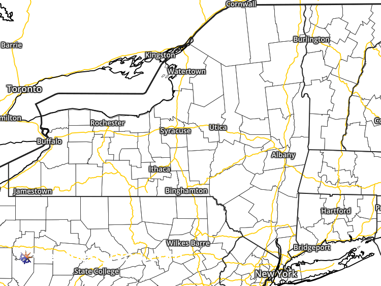 Doppler Weather Radar Map For Rockland County New York Regional