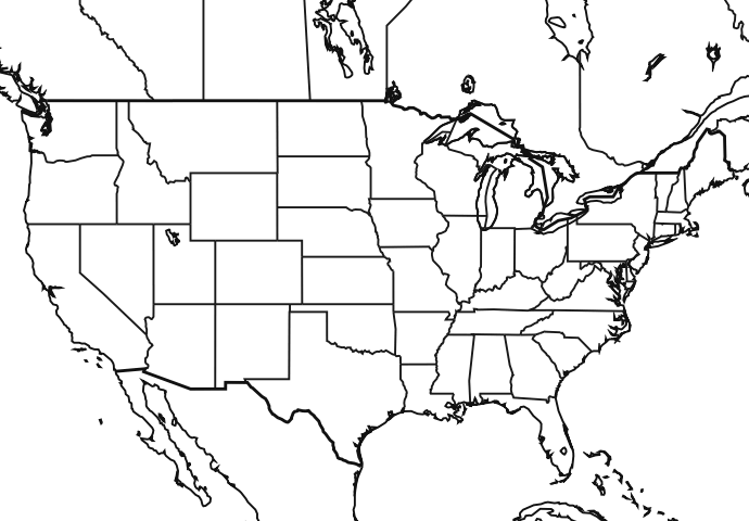 Image Blankusmaphipng Naruto Fanon Wiki FANDOM Powered FileUnited - Us map png